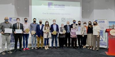 Novaterra Alcoi entrega sus reconocimientos a la Inclusión Social a Aquaclean, Up2City, Didactum y Domus Vi Alcoy
