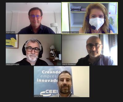Pablo Costamagna con CEEI Alcoy-Valencia, Gridet-UV y Adlypse.