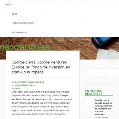 Google cierra Google Ventures Europe, su fondo de inversi�n en start-up europeas