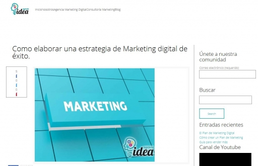 Como elaborar una estrategia de Marketing digital de éxito. | Agencia Marketing digital
