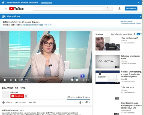 Colectual en RTVE - YouTube