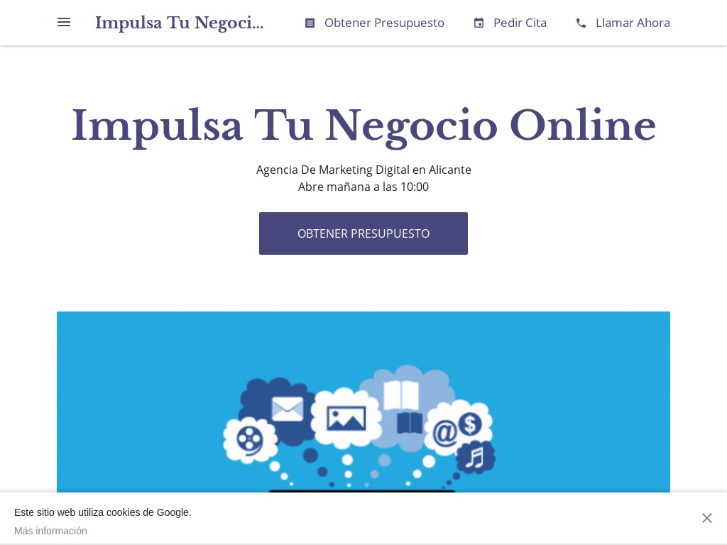 Impulsa Tu Negocio Online - Agencia De Marketing Digital en Alicante